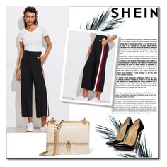 """""""Shein"""" by filiz-3 ❤ liked on Polyvore featuring Christian Louboutin and Fendi"""