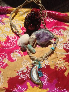 Hey, I found this really awesome Etsy listing at https://www.etsy.com/listing/241837447/under-the-sea-hemp-necklace