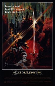 Excalibur (1981) Ire. / GB /  USA Warner / Orion Fantasy D/Prod/Co-Sc: John Boorman. Nigel Terry, Helen Mirren, Nicol Williamson, Nicholas Clay, Cherie Lunghi, Gabriel Byrne, Liam Neeson, Corin Redgrave, Patrick Stewart, Clive Swift, Ciaran Hinds. (4/10) 07/03/16