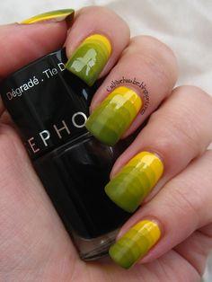 Sephora Makeup Academy Nail Art i Nail Designer Tie Dye | Cajkine kandže i sve njihove boje