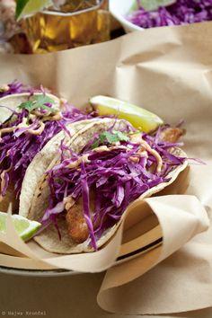 Tirs de délicieux tacos de poisson croustillants: