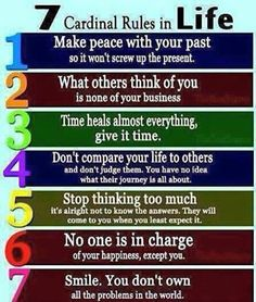 #Happiness in 7 steps