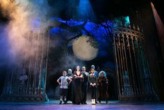 The Addams Family (2014) at the Ogunquit Playhouse in Maine (photo by Julia Russell)