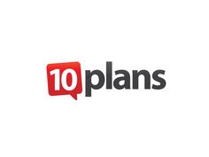 Logo for 10 Plans -- New Social Plan Site for Events, Trips and Gatherings by transform99