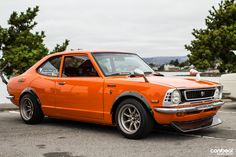 Classic Japanese Cars, Japanese Sports Cars, Old Classic Cars, Toyota Corolla, Toyota Celica, Retro Cars, Vintage Cars, Datsun Car, Import Cars