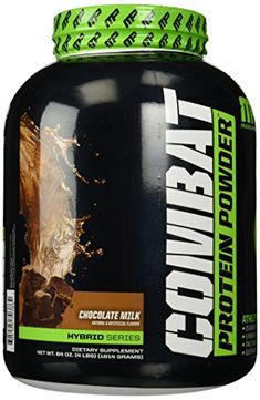 Muscle Pharm Combat Powder Advanced Time Release Protein Chocolate Milk 4Pound Tub -- You can get additional details at the image link.
