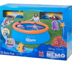 Buy Disney Finding Nemo 3D Paddling Pool at Argos.co.uk, visit Argos.co.uk to shop online for Pools and paddling pools, Paddling pools and water games, Outdoor toys, Toys