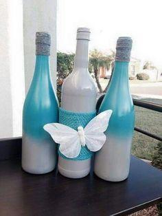 Butterfly bottles