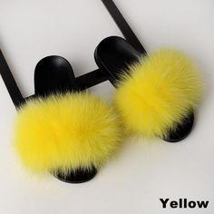Cute Fluffy House Fur Slippers