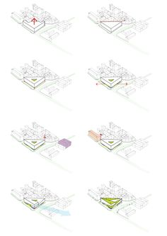 Kamvari Architects - Slovenia Library - Concept Diagrams