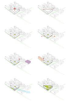 Kamvari Architects - Slovenia Library - Concept Diagrams