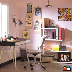 #Muebles #Escritorio #HomeOffice #Vintage #Sodimac #Homecenter