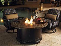 Tommy Bahama Outdoor Kingstown Sedona Fire Pit Lounge Set