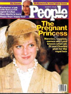 People Magazine November 23, 1981 Princess Diana