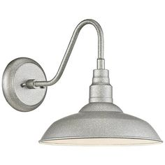 Buy the Quoizel Galvanized Direct. Shop for the Quoizel Galvanized Beachside Single Light Tall LED Outdoor Gooseneck Wall Sconce with Warehouse Shade and save. Led Outdoor Wall Lights, Outdoor Barn Lighting, Outdoor Wall Lantern, Outdoor Wall Sconce, Outdoor Walls, Lantern Lighting, Exterior Lighting, Indoor Outdoor, Quoizel Lighting