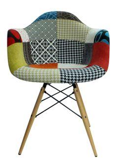 Silla Eames patchwork