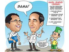 Dahlan Iskan & Jokowi - Indocartoon - JPNN.COM