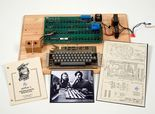 First Apple computer could fetch $500K at auction. Auction will be held at Christie's in NYC.