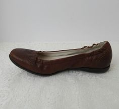 ca32fff0036 Palladium Brown Leather Ballet Flats Size US 6.5 EU 37.5  fashion  clothing   shoes