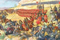 Antony's retreat from Media Atropatene in 37 BC