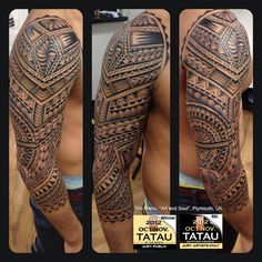 "Samoan tattoo - Sini Manu, ""Art and Soul"", Plymouth, UK"