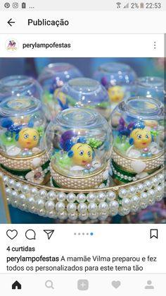 Mermaid Theme Birthday, Little Mermaid Birthday, Little Mermaid Parties, Birthday Fun, 1st Birthday Parties, Candy Bar Decoracion, Sprinkle Party, Party Rock, Mermaid Cakes