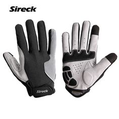 9c721299a06866 Sireck Man Women Cycling Gloves Touchscreen Breathable MTB Road Bicycle  Gloves Bike Guantes Ciclismo Red Black