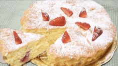 French Apple Tart, Parfait Desserts, Strawberry Pie, Strawberries And Cream, Cream Cake, Relleno, Biscotti, Bakery, Cheesecake