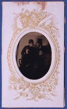 photo-Belgium-aristocrats-laughing-funny-tintype-cdv-noble-ferrotype-foto-1885