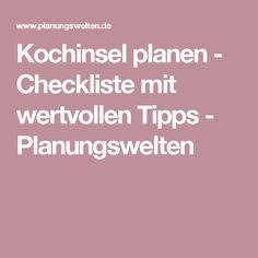 Kochinsel Planen   Checkliste Mit Wertvollen Tipps
