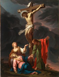 """necspenecmetu: """"Francesco Trevisani, The Crucifixion, late 17th or early 18th century """" Holy Easter to all my followers 2015"""