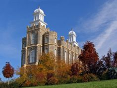 lds temples  | Click to enlarge this image of the Logan Utah Mormon Temple