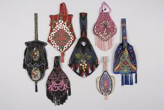 BEADED BAGS, EARLY 20th | via whitakerauction.smugmug.com