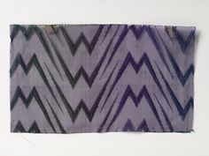 RISD Museum: Arnold Print Works, American, 1861 - 1942. Textile swatch, 1893. Silk. Length: 11.4 cm (4 1/2 inches). Gift of Jacob Ziskind, the Crescent Corporation 49.369.15