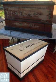 Custom Painted Piece With Chalk Paint