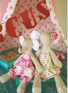 Mimin toys: elefantes