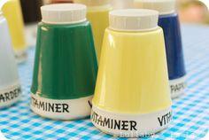 Vitaminkrukken Salt And Pepper, Volvo, Design, Salt N Pepper