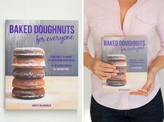 Triple Chocolate Vegan   GF Doughnuts from Baked Doughnuts for Everyone   Giveaway!