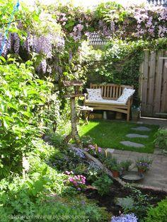 Helena's mijmeringen: Mijn mooie oude tuin