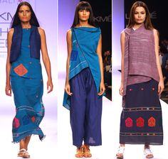 Vaishali Shadangule's latest collection featured the khadi fabric created by Assamese women. | Assamese weaves for sultry summers