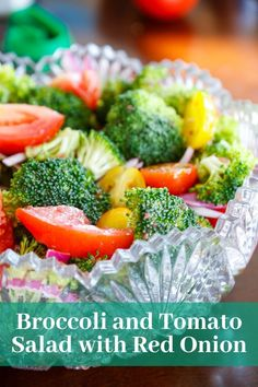 This is one of the best side salads you can serve up for your own party or to take with you to a bbq or picnic. Simple Side Salads | Vegetarian Recipes | Party Food Ideas | Broccoli | Easy Entertaining Recipes
