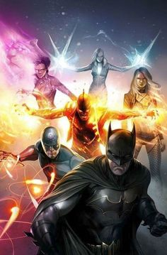 This reading order is designed to give an outline of major storylines featuring the Justice League of America (Rebirth Version) throughout DC Comics Dc Comics Superheroes, Dc Comics Characters, Dc Comics Art, Marvel Dc Comics, Comic Books Art, Comic Art, Book Art, Justice League Comics, Comic Manga