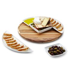 Look what I found at UncommonGoods: lazy susan with serving dishes... for $80 #uncommongoods
