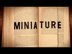 Miniature's root may be Latin, but its meaning is rooted in books, where red pigment was used to denote chapter breaks. Jessica Oreck explains how we got from there to the meaning of miniature today: something smaller than others of its class.