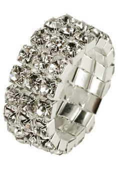 Produkttyp , Ring, |Material , Metall, |Farbe , silberfarben-kristall, |Muster , Verziert, |Gravurmöglichkeit , Nein, |Nickelfrei , Ja, | ...