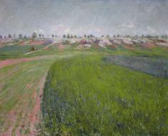 Gustave Caillebotte-Le coteau Colombes