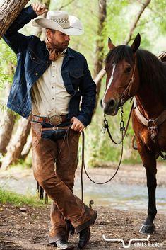Cowboy And Cowgirl, Cowboy Boots, Denim Jacket Men, Men's Denim, Kimes Ranch, Hot Country Boys, Hot Cowboys, Thing 1, Western Wear