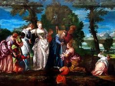 vers 1580 Huille sur toile  166 x 102 cm Musée des Beaux Arts, Dijon