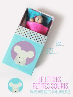 Qu'il est mignon ce petit lit de fée ou de souris réalisé à partir d'une simple boîte d'allumettes ! Suivez notre tutoriel pour fabriquer simplement un joli petit lit digne du conte de fée de Poucette !