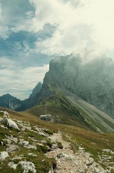 visitheworld:   The mountain hut, Julian Alps /... - ૐPraises To Jah ૐ